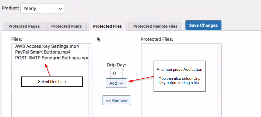 adding FastMember files to protected