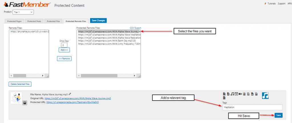 Adding metadata FastMember
