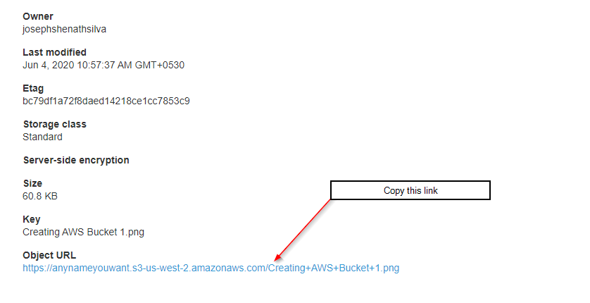 getting file links AWS console fastflow fastmember