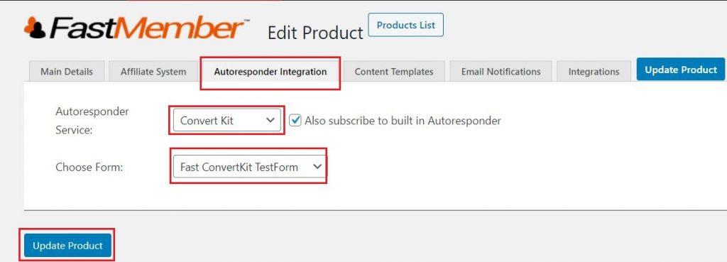 ConvertKit Autoresponder Integration
