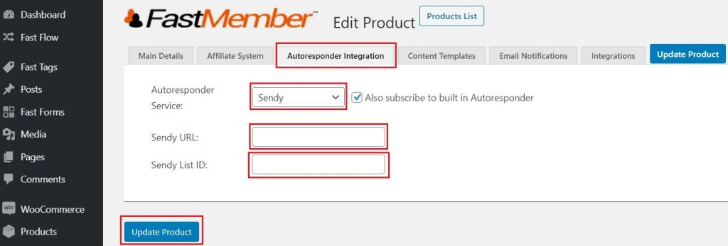 Sendy AutoResponder Integration